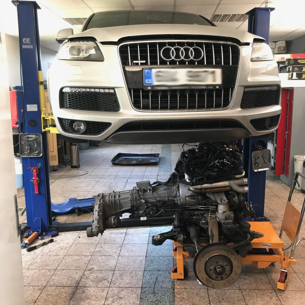 Audi Q7 rozvody 3.0 tdi výměna